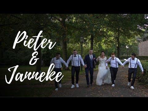 Trouwfilm Impressie ~ Pieter & Janneke (12-10-2018) ''Same day edit''