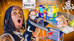 CRAZY GROCERY SHOPPING CHRONICLES WITH NYYEAR AND JALYN!!! *Quarantine Edition*