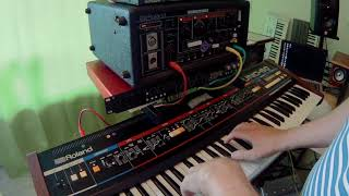 Roland Juno 60 and Roland RE 501 Nils Frahms perfect couple