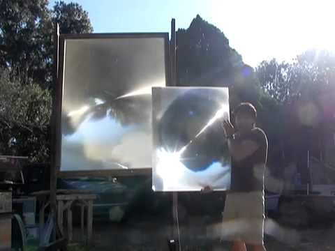 New Generation of Solar Fresnel Lens - YouTube.flv