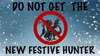 War Dragons: ⚠️ DO NOT GO for the New Festive Hunter.... ⚠️