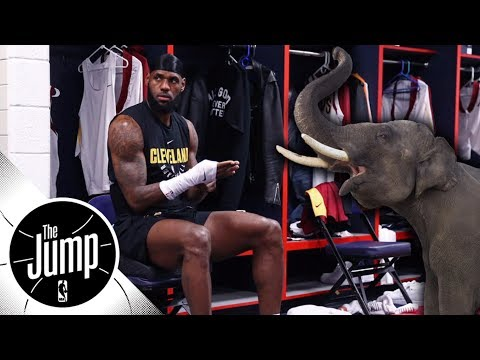 LeBron James' free agency is the elephant in the room | The Jump | ESPN