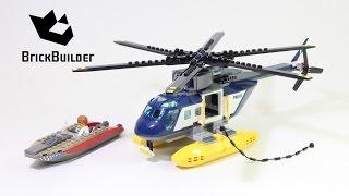 Kijk Lego City 60067 Helicopter achtervolgin filmpje