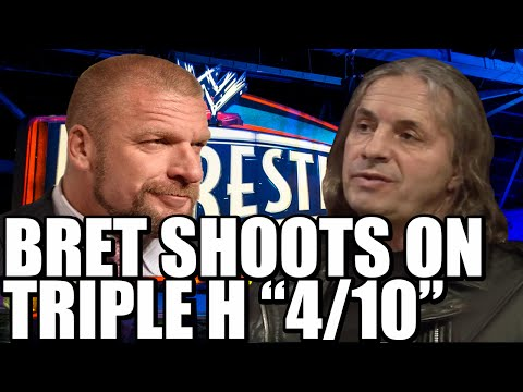 Bret Hart shoots on Triple H - Shocking interview outtake