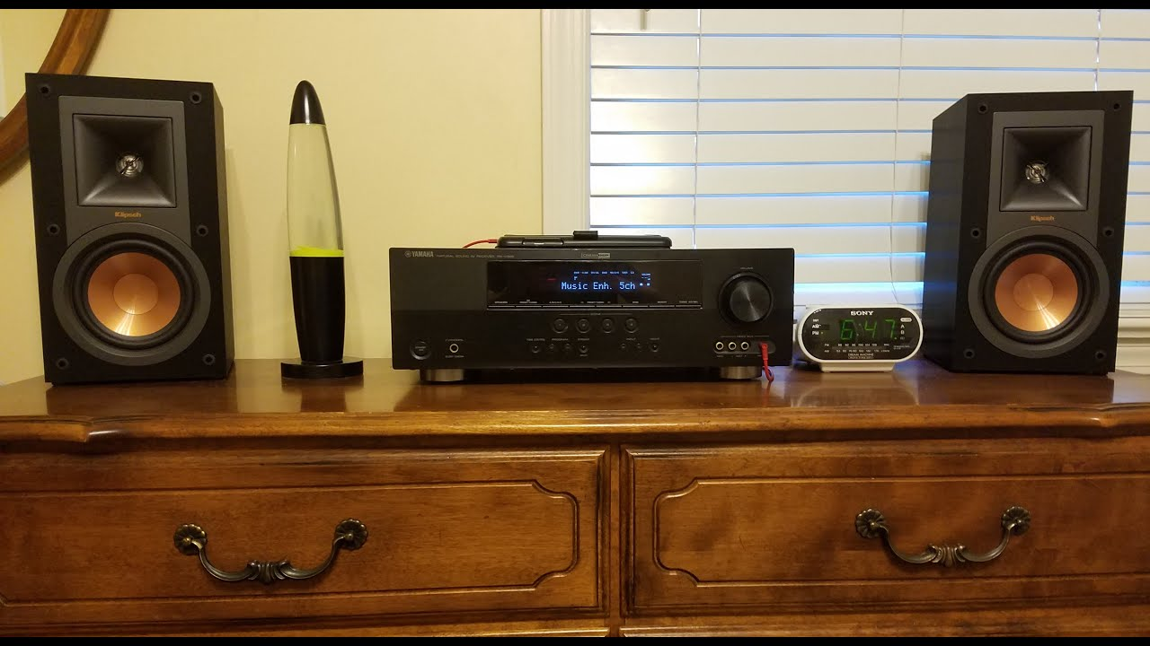 klipsch bookshelf speakers r 15m. klipsch r-15m excursion and bass test part 2 bookshelf speakers r 15m l