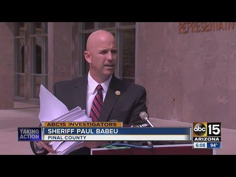 Pinal County Sheriff Paul Babeu criticizes attack ads using ABC15 reporting