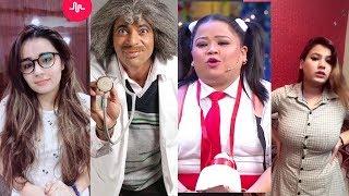 Dr. Gulati and Bharti NEW special   Dr Mashoor Gulati and Bharti Kapil sharma show compilation