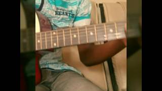 How to play flavour am for real on guitar(easy)