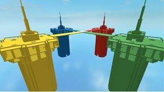 rojo vs azul vs verde vs amarillo-ROBLOX-Veggiito327