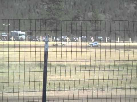 Eagle Track Raceway Modified Main Event Part 4 May 2nd 2015