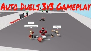 Roblox Auto Duels 3v3 Gameplay With Friends