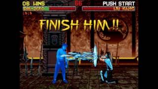 Mortal Kombat 2 - 32X Sub-Zero Playthrough (60 FPS) thumbnail