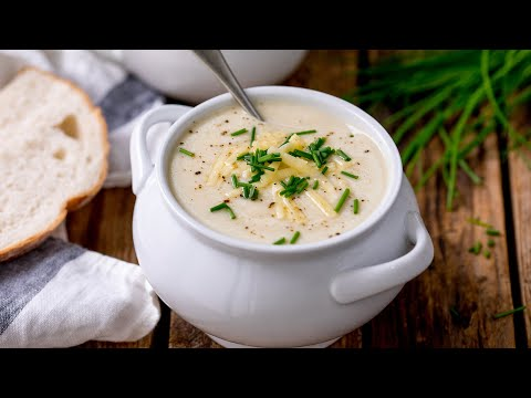 Super Easy Cauliflower Soup Recipe   Just 7 ingredients and 25 minutes!