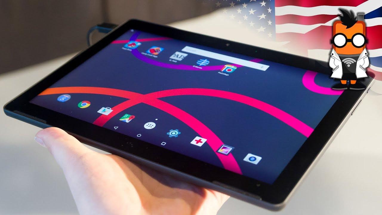 BQ Aquaris M10 Tablet Hands On