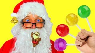 Healthy Habits Nursery Rhymes & Kids Songs   Santa Pretend Play with Elves by Miss Emi