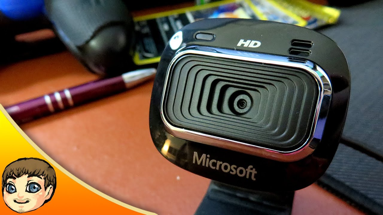 UNDER $25 WEBCAM // Microsoft LifeCam HD-3000 Webcam Review