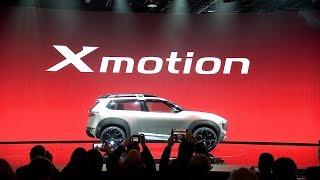 NISSAN DEBUTS XMOTION CONCEPT AT 2018 DETROIT AUTO SHOW