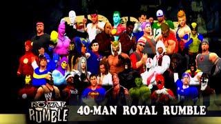 M4G Nation 40-Man Royal Rumble [December 22nd, 2012]