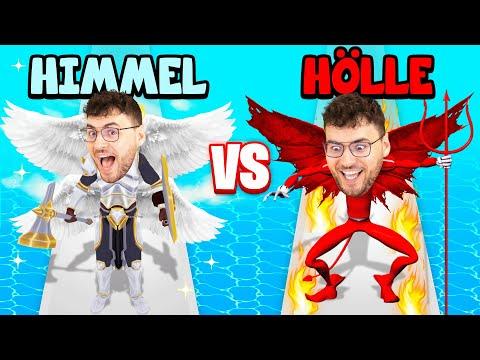 HIMMEL vs. HÖLLE! (GUT gegen BÖSE) - GO to HEAVEN