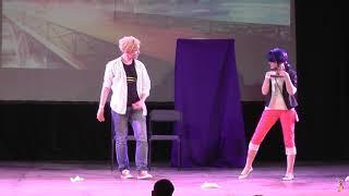 Сценический косплей №4 Миракулеснутые, Баба Жук и Чорный Кот - Taiyou no Matsuri 2019