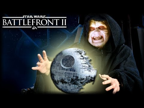 Star Wars Battlefront 2 - Funny Gameplay Moments (Death Star II. Yep, They Built Another One)
