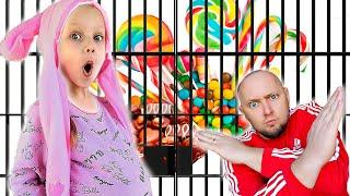 Волшебная история для детей про вредные сладкие конфеты. Ya-Nastya