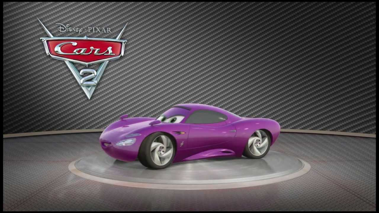 Pixar Cars 2 Turntable Holley Shiftwell 2011 High Def
