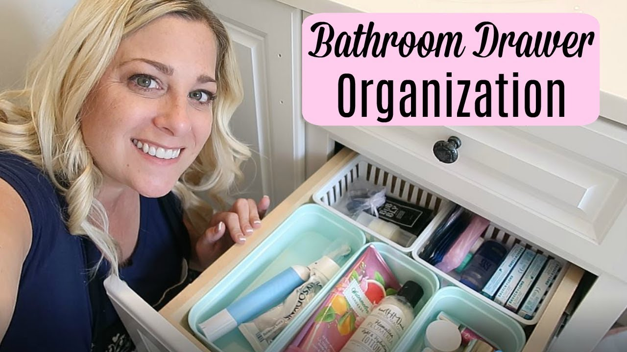 Bathroom Drawer Organization You, Organizing Bathroom Drawers