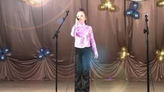 Алина Пиманихина - Песня о снежинке