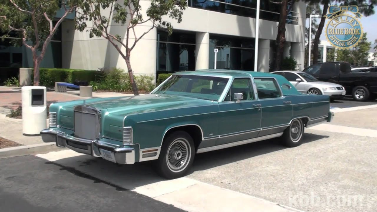 KBB review 1979 Lincoln Continental - YouTube