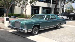 KBB review 1979 Lincoln Continental
