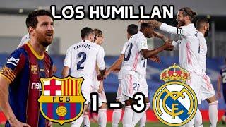 🚨⚽Barcelona 1-3 Real Madrid 2020 Súper Clásico de la Liga Barca pierde con el Real Madrid