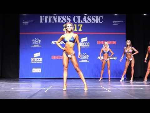 Fitness Classic 2017 - Bikini Fitness juniorit - Yli 168cm - Finaali