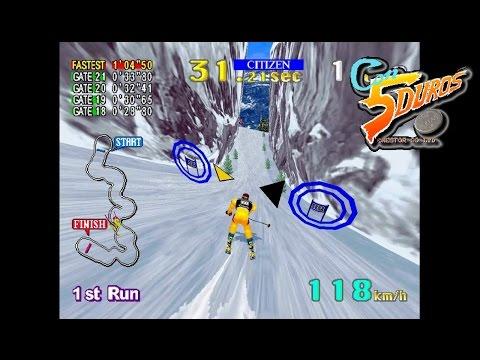 "SEGA SKI SUPER G - ""CON 5 DUROS"" Episodio 344 (+The Snowman MSX) (1cc)"