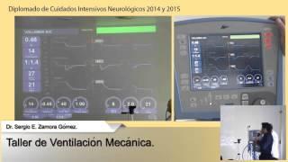 Taller De Ventilación Mecánica. Ventilador Avea. Dr. Sergio E. Zamora Gómez