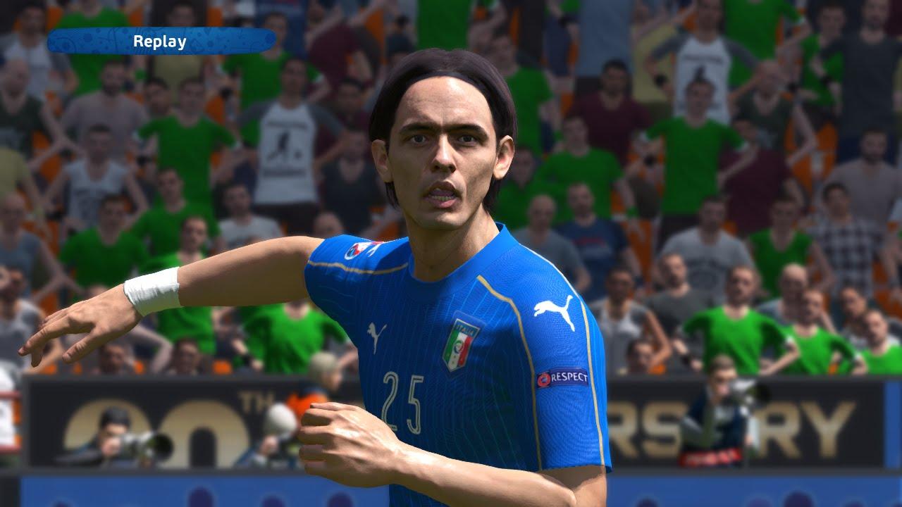 Legends Filippo Inzaghi UEFA Euro PES 2016