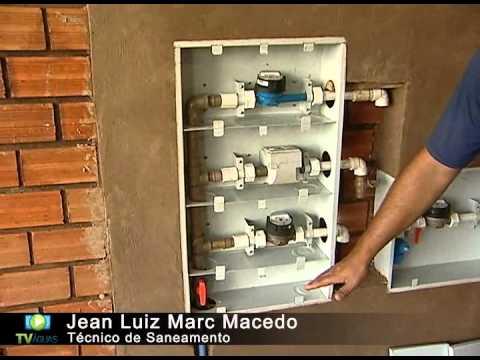 cc24c617f1c TV Águas - Saiba como instalar a proteção padrão para o hidrômetro - YouTube