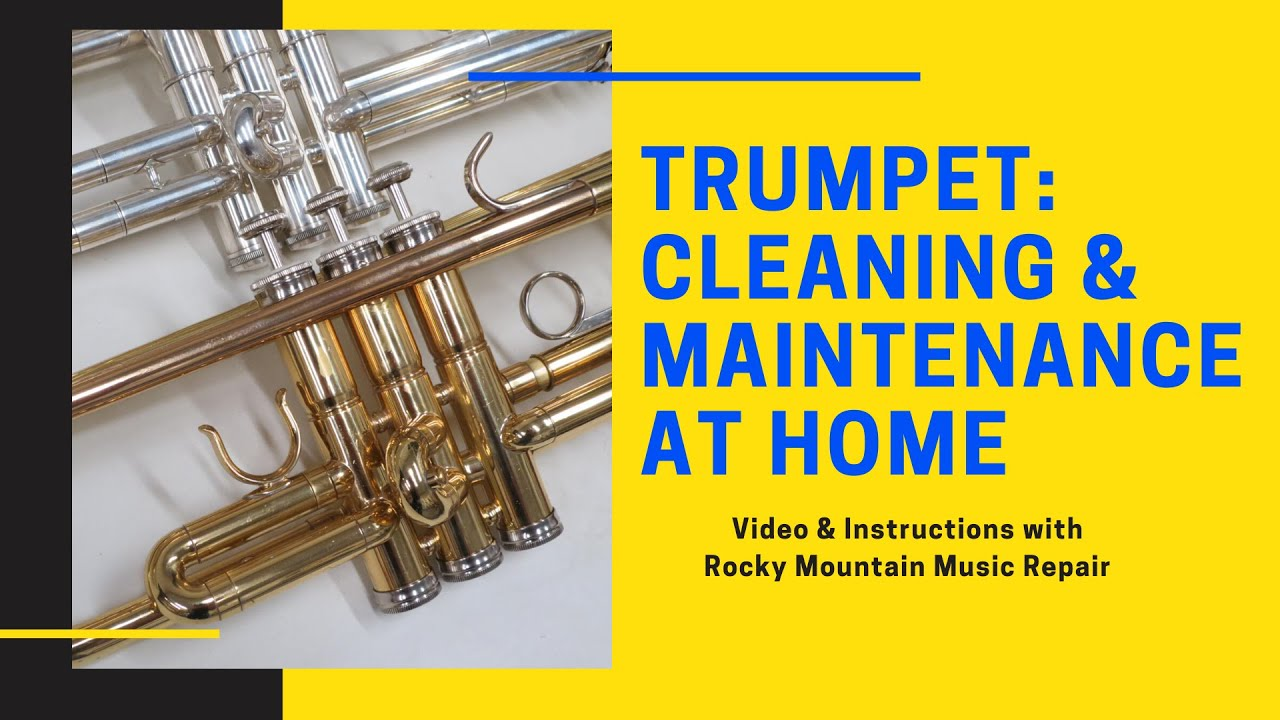 How to Clean Your Trumpet at Home
