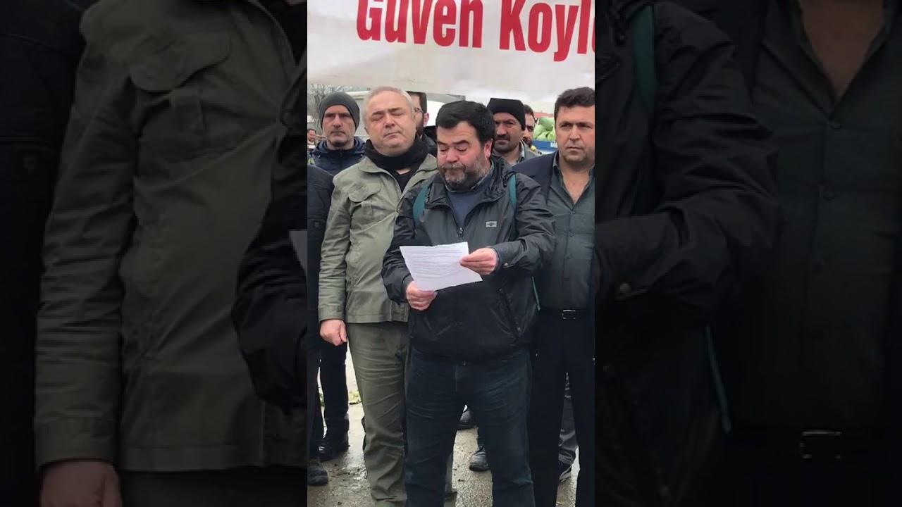 Sedat Balta basın açıklaması