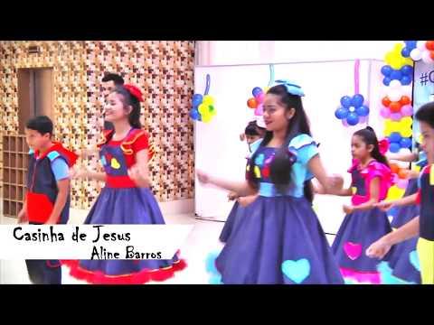 Casinha de Jesus - Aline Barros (Coreografia)