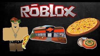 ROBLOX-The GRANDMA'S PIZZERIA (Pizza Factory)