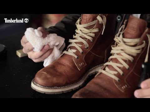 How to Clean Leather Boots, Timberland Style