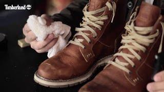 Як очистити шкіряні чоботи, Тімберленд стиль