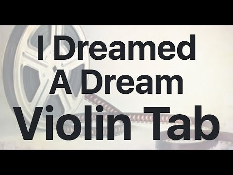Learn I Dreamed A Dream on Violin - How to Play Tutorial