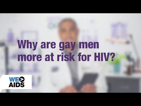 #AskTheHIVDoc: Why Are Gay Men At Greater Risk For HIV? (1:16)