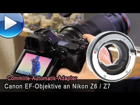 Canon EF/EF-S Auf Nikon Z Per Automatik-Adapter!