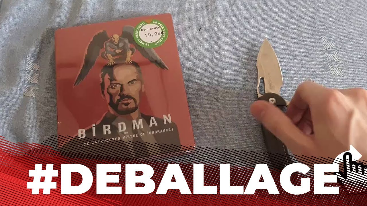 Download Birdman (2014) Boîtier Métal Exclusivité Fnac Blu-ray (2019) #DEBALLAGE