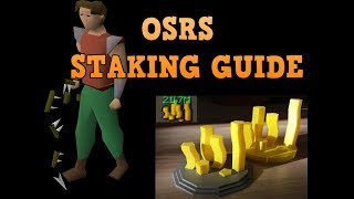 Definitive OSRS STAKING SIMPLE GUIDE - Lose your money at the sand casino fair and square