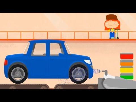 Мультфильмы для детей про машинки. Доктор Машинкова и автозавод
