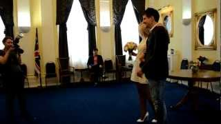 Свадьба Кирилла и Ольги часть 1